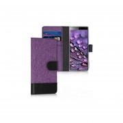 Kwmobile - Funda tipo cartera para Sony Xperia 10 (piel s...