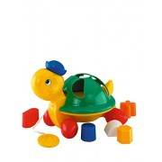 Simba Play&Learn- Mrs Turtle, Pull Along, Multi Color