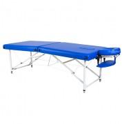 Lipt® HL-01 masszázsasztal (Alumínium) kék