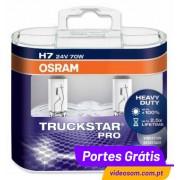 Osram H7 TruckStar Pro ( 2 Lâmpadas )