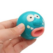 Novelties Toys Pop Out Toy Clown Squishy Stress Reliever Funny Gift Big Mouth Vent Toys