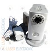 Telecamera Wireless IP Wifi HD 720P SD Card IR Led 8MT P2P QR Code