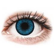 Blue Topaz contact lenses - SofLens Natural Colors - Power
