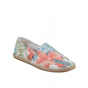 Zobello Men Floral Summer Printed Canvas Espadrilles(92023A45_Multicolour Floral Print_11 UK)