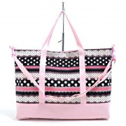 Harmony Polka Dot And Lace Gusset Bag Ribbon Lessons Of The Fashion Kids (Black) Made In Japan N0902800 (Japan Import)