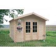 Abri de jardin bois SEDAN 6.15 m2 Ep. 28 mm