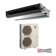 Duct Mitubishi Electric 35000 BTU inverter PEAD-RP100JAQ + PUHZ-SHW112YHA