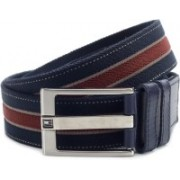 Tommy Hilfiger Men Blue, Red Metal Belt