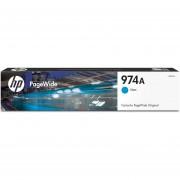 Cartucho HP de alta capacidad PageWide 974A-Cian