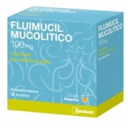 Zambon Italia Srl Fluimucil Mucol 100 Mg Granulato Per Soluzione Orale 30 Bustine