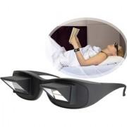 Tradeaiza Creative High Definition Horizontal Glasses Lazy Glasses E-reader (1 inch Screen Black)-001