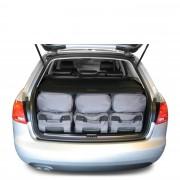 Car-Bags Audi A4 Avant (2001-2008) 6-Delige Reistassenset zwart