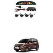 KunjZone Car Reverse Parking Sensor Black With LED Display Parking Sensor For Maruti Suzuki Zen