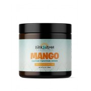 Bask & Bloom Essentials Mango Castor Twisting Creme For Thick & Coarse Hair |8 oz