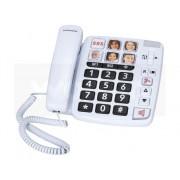 SWISSVOICE Teléfono Fijo SWISSVOICE Xtra 1110 Blanco