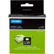 Dymo S0722520 - 11352 Etiquetas, 54 x 25 mm, blanco, 500 unidades