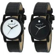 Ridiqa Fashion New Stylist Mahadev Print Dial Leather Belt Combo Set Men's Watch-153-154