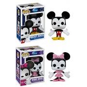 Disney Mickey and Minnie Mouse Funko Pop Vinyl Figure Set Of 2
