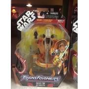 Daraz 2007 Star Wars Transformers Saesee Tiin To Jedi Starfighter Figure MOC