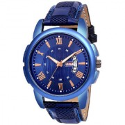 New Havy Original Day And Date Dile Blue Best Designing Stylist looking Brand Analog Watch For Men Boys