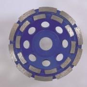 Hikoki Hitachi Diamant komschijf type dubbele rij 125x22.2mm