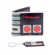 Nintendo NES portemonnee met sleutelhanger
