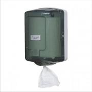 Dispenser prosoape hartie cu derulare centrala