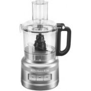 KitchenAid 7-Cup Food Processor Contour Silver (KFP0718CU) 500 W Food Processor(Contour Silver)