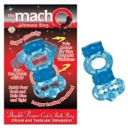 Macho 2X Power Cock/Ball Ring (Blue)