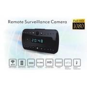 Budík s wifi kamerou - Full HD s detekciou pohybu + 10 IR LED