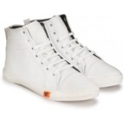 Shoe Day Sneakers, Corporate Casuals, Casuals, Canvas Shoes(White)