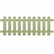 vidaXL Gard din țăruși, lemn de pin tratat, 170x60 cm 6/9 cm