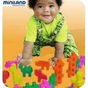Joc de constructii Carnavalul animalelor Miniland