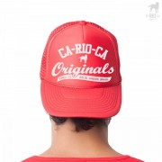 CA-RIO-CA Originals Trucker Hat Red CRC-H1091