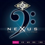 Rotosound NXB45 Nexus Coated Bass Guitar Strings (45 65 85 105)