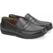 Clarks Verado Step Black Leather Lace up For Men(Black)