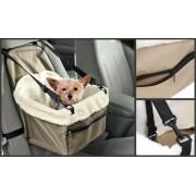 Přepravní taška do auta pro psy kočky na sedadadlo