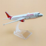 1 Ratio 300 Air India Airbus A320-231 Scale Metal Model Aircraft Highly Detailed Souvenir Model Aircraft Collection