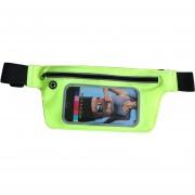Resistente A La Intemperie Cintura De Los Deportes Correa Correa Bolsa Compatible Con Menos De 6,0 Pulgadas De Teléfono Móvil Táctil Cintura Packs (verde)