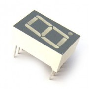 SA08-11EWA DISPLAY LED 7 SEGMENTOS ANODO ROJO 20mm