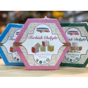 Pasha Turkish Delight Rose & Lemon Flavour 200g box X 2