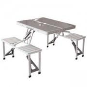 Kомплект маса със столове за къмпинг Deluxe 4 - King Camp, MAS-KC3864