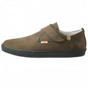 Pantofi copii, din piele naturala, marca Viva Bimba, 17-135-2, maro