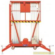 GTWY12-200S Személyemelő kosár 14 méter munkamagasság, hálózati elektromos emelés, kézi mozgatás