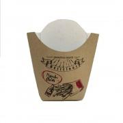 Cutie Cartofi, 13x14 cm, 100 Buc/Bax, Model Imprimat, Cutii pentru Cartofi - Ambalaje Fast Food