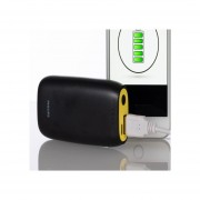BATERIA PORTATIL, POWER BANK, USB, NEGRO, DLP5206YL