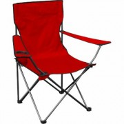 Quik Shade Standard Folding Chair - Red, Model 146115DS