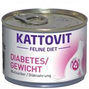 Kattovit Diabetes/Peso (glucemia/alimentación dietética) - 6 x 175 g