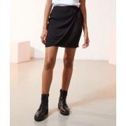 Etam Jupe porte-feuille - TONIA - 36 - Noir - Femme - Etam