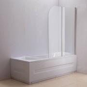 Aquaneo Duschabtrennung Badewanne, Links oder Rechts montierbar-klarglas-rechts